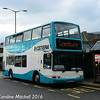 Buses Excetera X595EGK, Commercial Road, Guildford, 7th October 2016