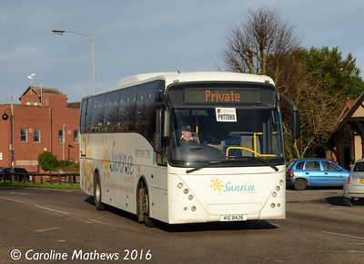 Ambassador Travel KIG8426, Huntingdon, 8th January 2016