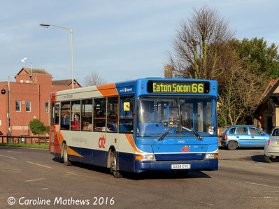 Stagecoach 34530 (GX04EYC), Huntingdon, 8th January 2016