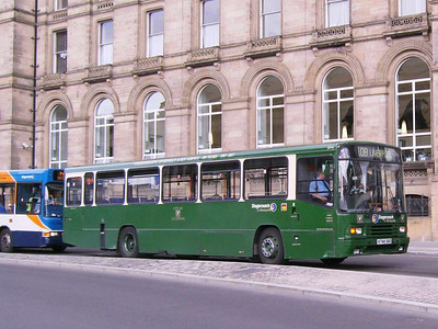 Stagecoach 20744 (K744DAO), Liverpool, 5th July 2008