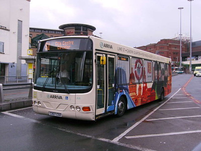 Arriva North West 2638 (CX07CSO), Liverpool, 5th July 2008
