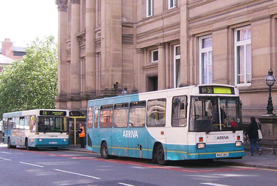 Arriva North West 1165 (M165WKA), Liverpool, 5th July 2008