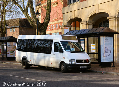 Kidlington Assisted Transport CIC SN55HCH, Banbury, 13th February 2019