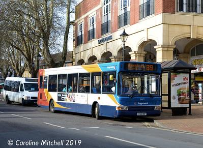 Stagecoach 34471 (KV53NHF), Bridge Street, Banbury, 13th February 2019