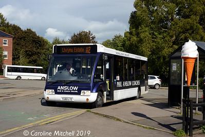 Phil Anslow YJ60LTZ, Abergavenny Bus Station, 26th September 2019