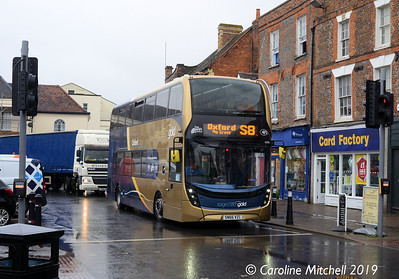 Stagecoach 10781 (SN66VZC), Wantage, 30th July 2019