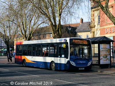 Stagecoach 36765 (OU62BLV), Bridge Street, Banbury, 13th February 2019