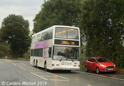 TM Travel 1179 (SA52DVV), Baslow, 22nd September 2019