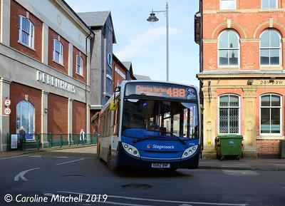 Stagecoach 36766 (OU62BNF), Bridge Street, Banbury, 13th February 2019