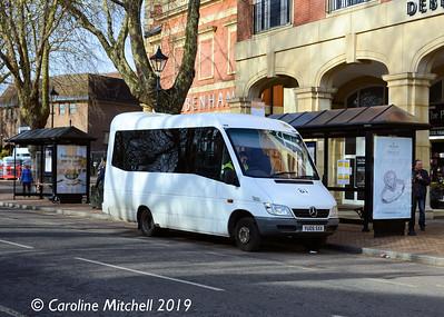 Kidlington Assisted Transport CIC YU05SXX, Bridge Street, Banbury, 13th February 2019
