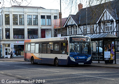 Stagecoach 36765 (OU62BHV), Bridge Street, Banbury, 13th February 2019
