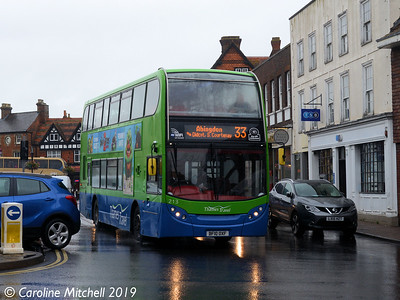 THames Travel 213 (BF10OXF), Wantage, 30th July 2019