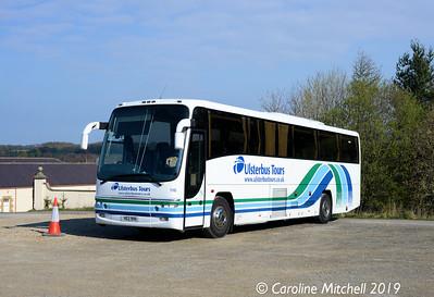 Ulsterbus 116 (HEZ9116), Beamish Museum, 12th April 2019