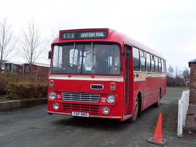 Fife FPE88 (XSF88S), Bo'ness, 2nd January 2011