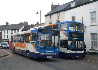 Stagecoach 32903 (P903SMR), Coleford, 28th May 2011