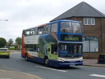 Stagecoach 18086 (VX04GHK), Cinderford, 1st June 2011