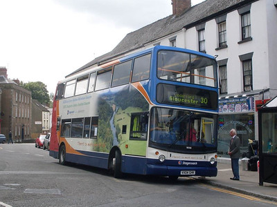 Stagecoach 18086 (VX04GHK), Coleford, 28th May 2011
