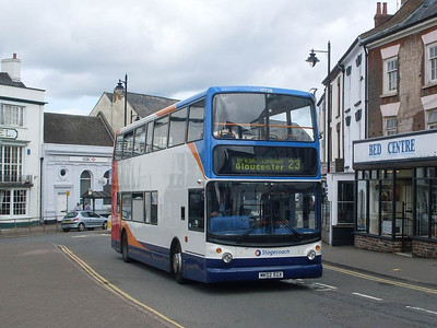 Stagecoach 17728 (MX02EGX), Coleford, 28th May 2011