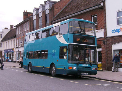 Arriva The Shires 5160 (S160KNX), Thame, 3rd August 2009