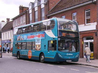 Arriva the Shires 5438 (SN58EOK), Thame, 3rd August 2009