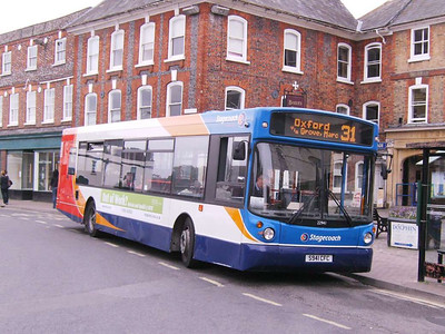 Stagecoach 22941 (S941CFC), Wantage, 7th September 2009