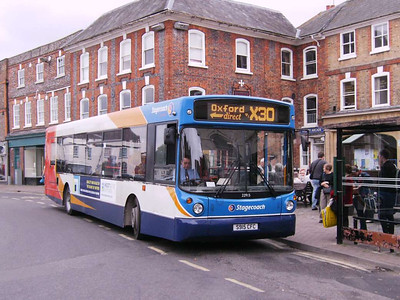 Stagecoach 22915 (S915CFC), Wantage, 7th September 2009