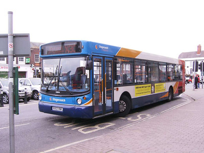 Stagecoach 22054 (KX53VNK), Wantage, 7th September 2009