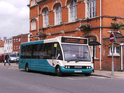 Arriva The Shires 2497 (YK57FHJ), Thame, 3rd August 2009
