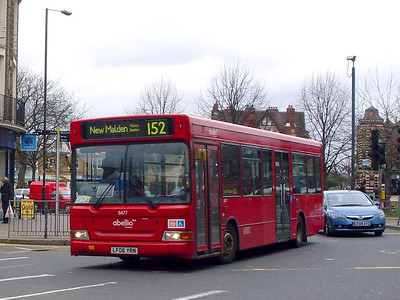 Abellio 8477 (LF06YRN), London Road, Mitcham, 27th March 2010