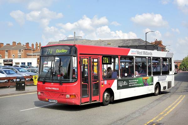 555 P955LDA, Wolverhampton 1/7/2014