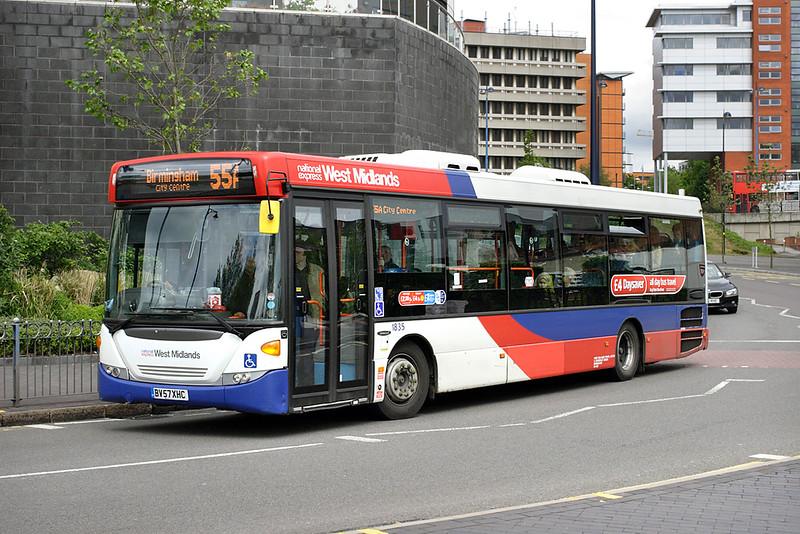 1835 BV57XHC, Birmingham 23/5/2014