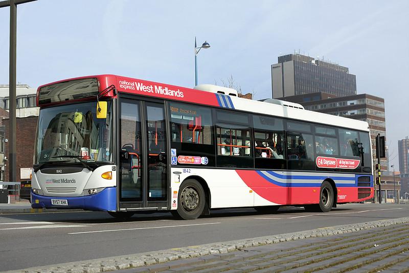 1842 BV57XHK, Birmingham 14/3/2014