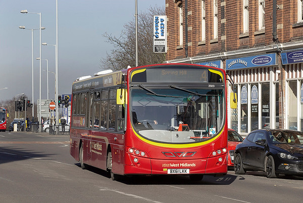 2023 BX61LKK, Wolverhampton 26/2/2019