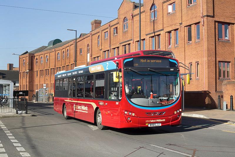 2007 BX61LJJ, Wolverhampton 26/2/2019