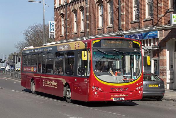 2021 BX61LKG, Wolverhampton 26/2/2019