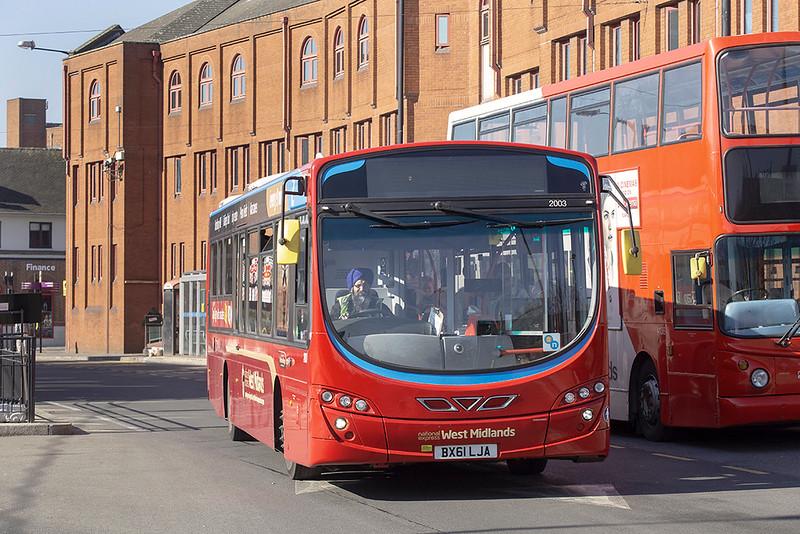 2003 BX61LJA, Wolverhampton 26/2/2019