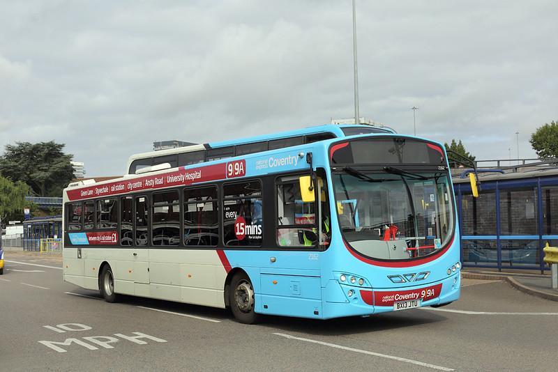 2162 BX13JTU, Coventry 25/8/2015