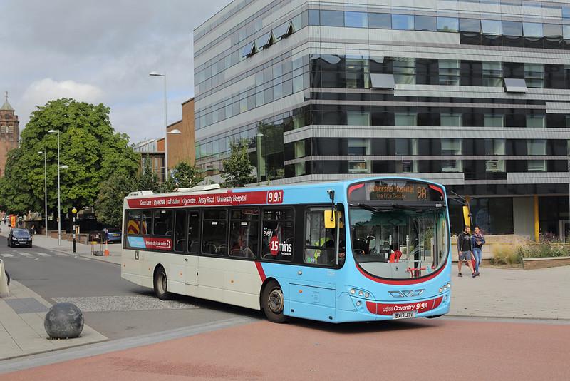2163 BX13JTV, Coventry 25/8/2015