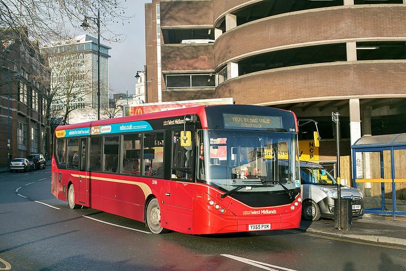 2246 YX65PXM, Birmingham 23/1/2019
