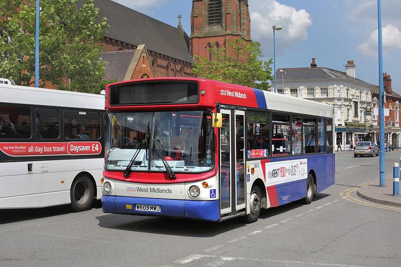 3603 W603MWJ, West Bromwich 1/7/2014