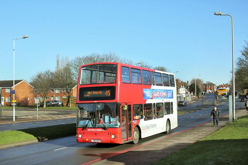 4086 V86MOA, West Bromwich 18/2/2016