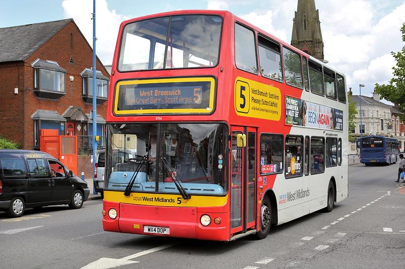 4114 W114DOP, West Bromwich 1/7/2014