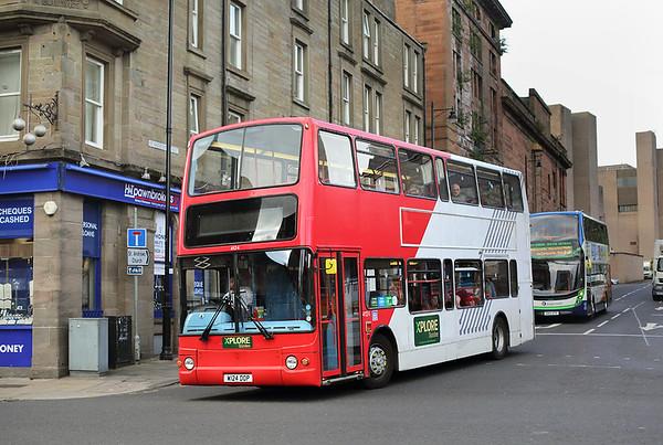 4124 W124DOP, Dundee 9/10/2017