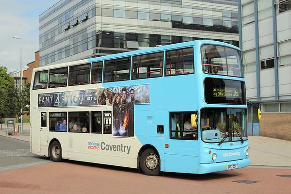 4413 BV52OCH, Coventry 25/8/2015