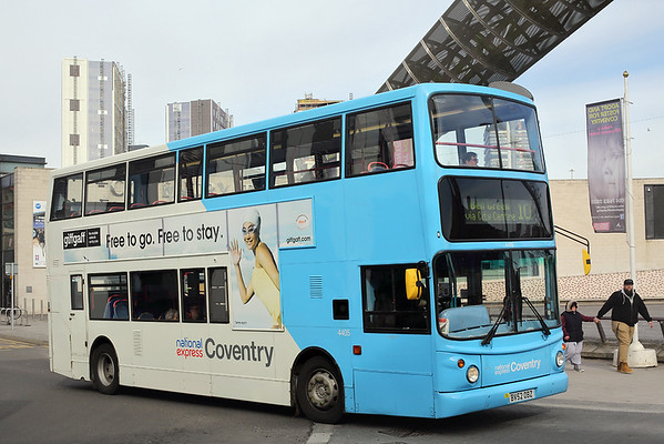 4405 BV52OBZ, Coventry 14/3/2018
