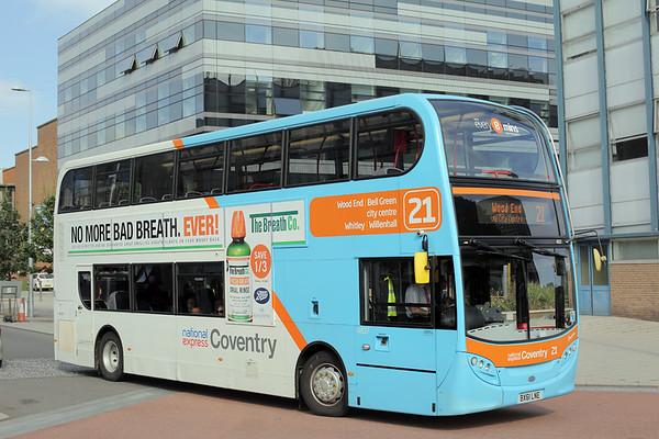4837 BX61LNE, Coventry 25/8/2015