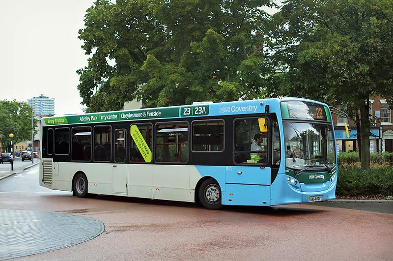 843 SN64ODV, Coventry 16/8/2018