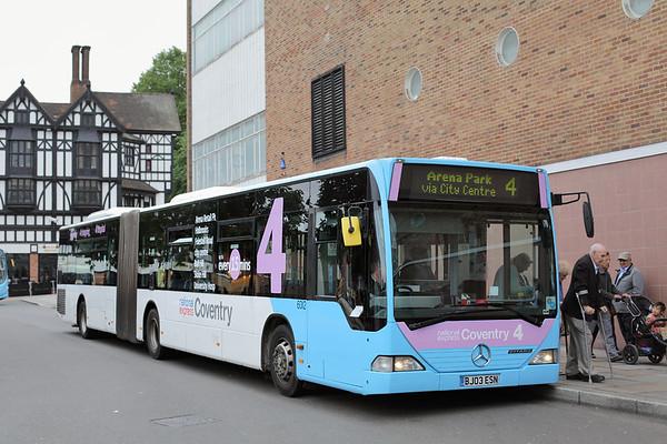 6012 BJ03ESN, Coventry 25/8/2015
