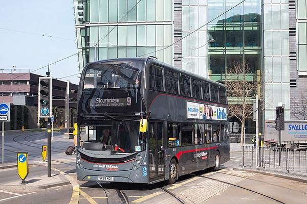 6916 SK68MGE, Birmingham 1/4/2019