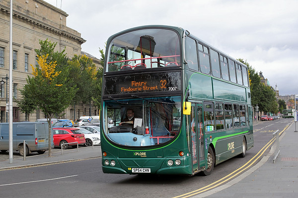 7007 SP54CHN, Dundee 9/10/2017